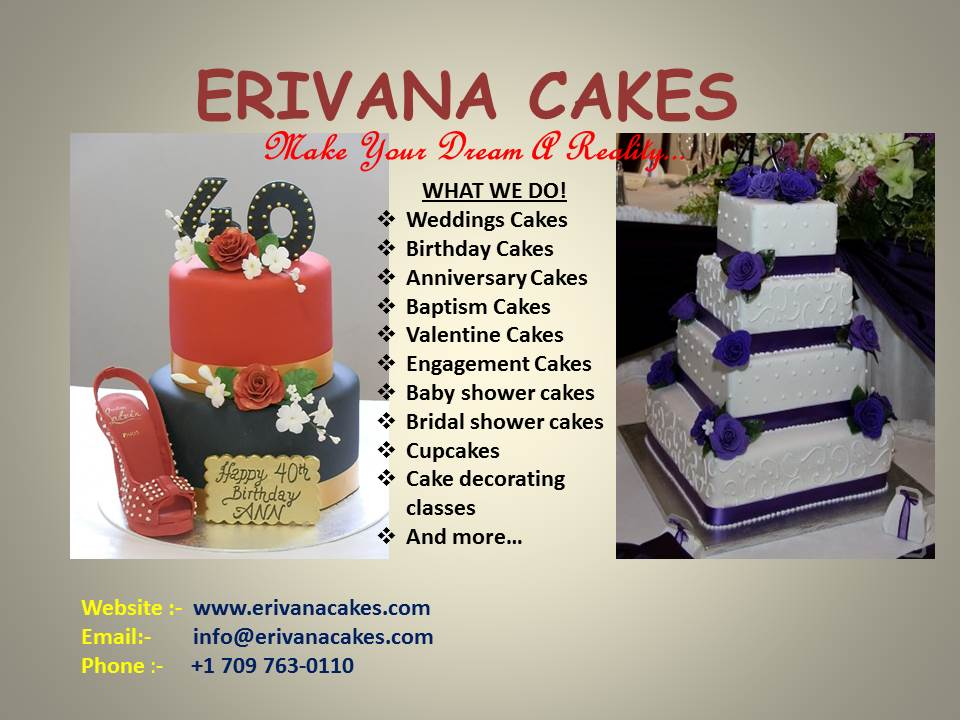 Home Erivana Cakes