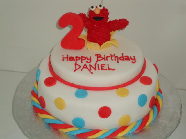 Elmo  Cake2 (B069)