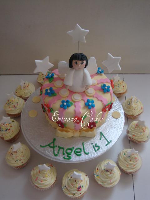 Angel Cupcakes
