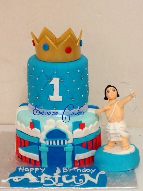 ARJUN, the Warrior Prince Cake (SP191)