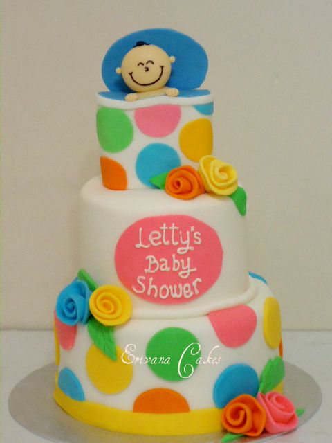 Baby Shower Cake 24 ( SP 167)
