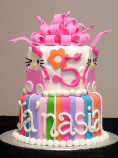 Hello Kitty Cake3