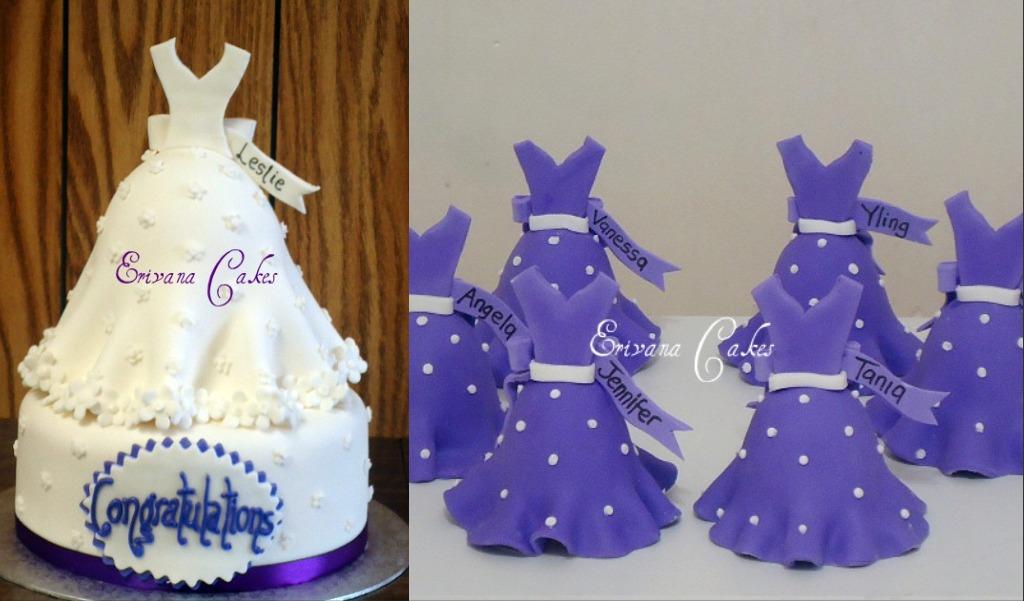 bridal shower cake 2sp143