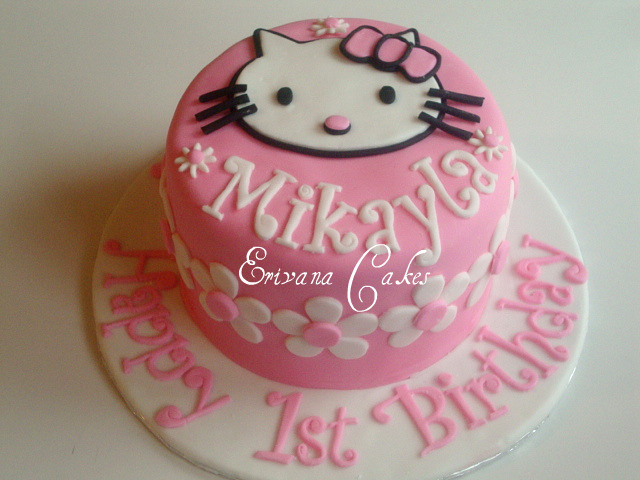 Hello Kitty cake 2 (B058)