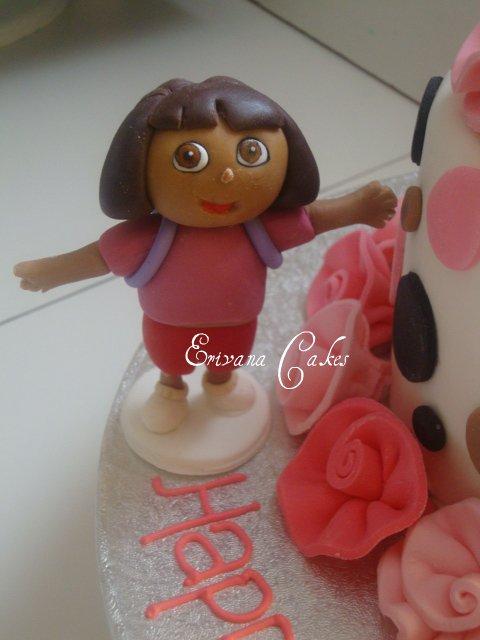 Hand made Dora Topper