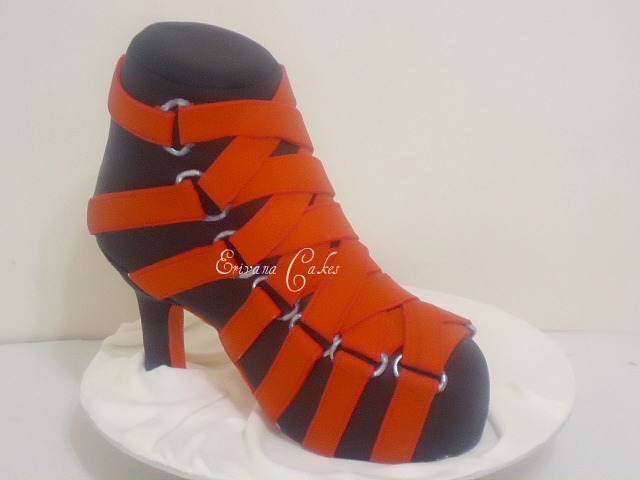 Louboutin Shoe Cake(SP133)