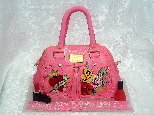 Ed Hardy Bag Cake (SP006)