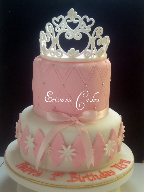 Princess Crown Cake Images : Photo Gallery - Erivana Cakes
