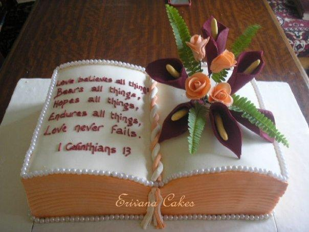 Bible Shaped Cake http://www.erivanacakes.com/apps/photos/photo?photoid=64757149