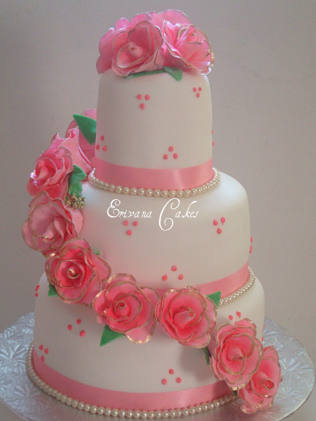 baby pink and white wedding cakes photo gallery erivana cakes 11000