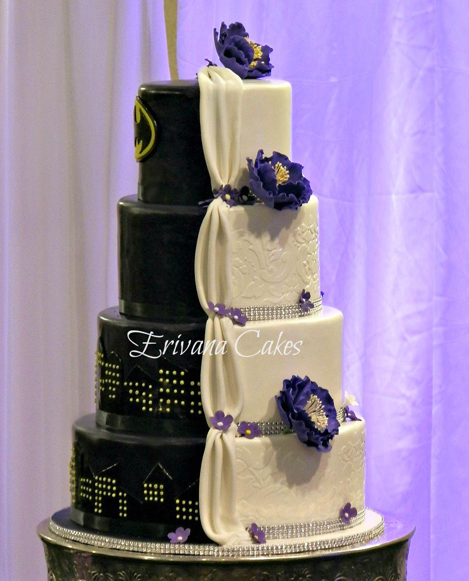 Batman Wedding Cake.Photo Gallery Erivana Cakes