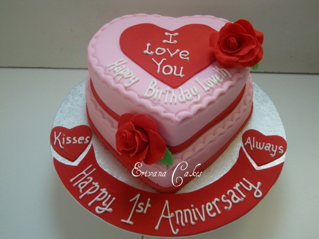 Photo gallery erivana cakes i love you cake 1 sp097 publicscrutiny Image collections