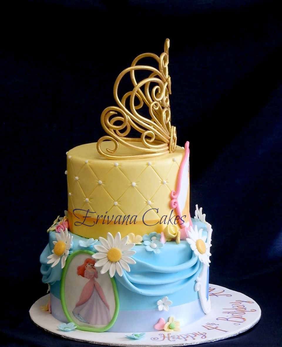 Princesses Cakes Images