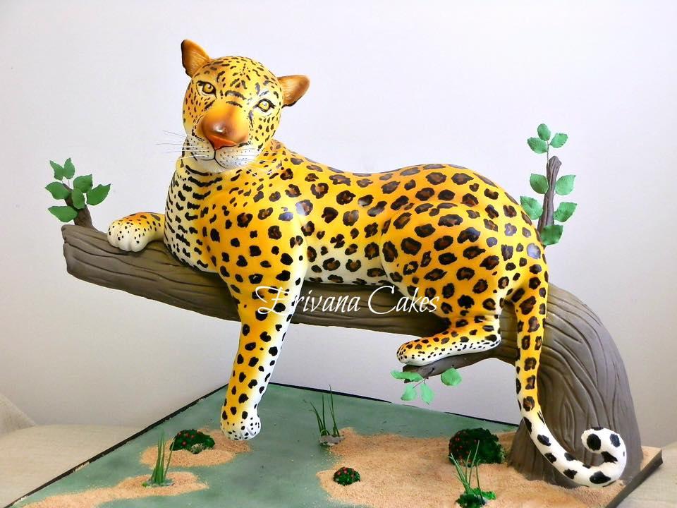 предлагали торты в виде леопарда картинки тех