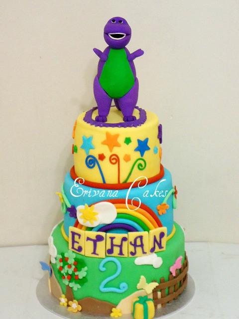 barney cake - photo #11