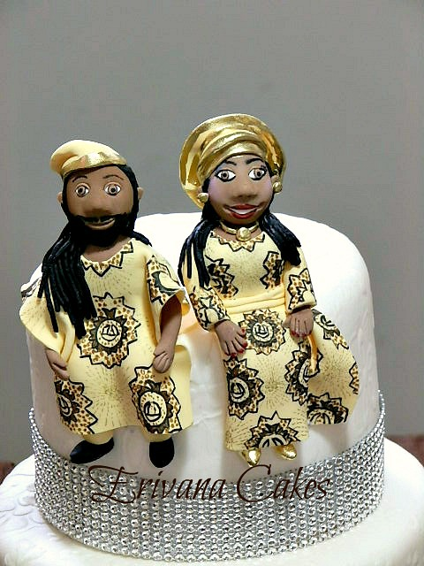 Gumpaste Bride and Groom