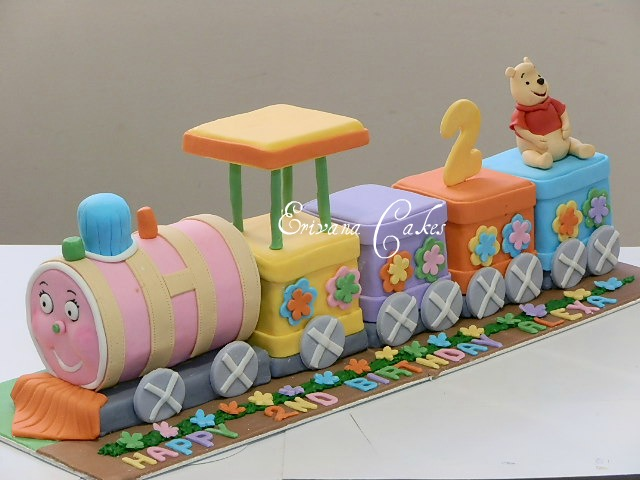 Train Cake Birthday