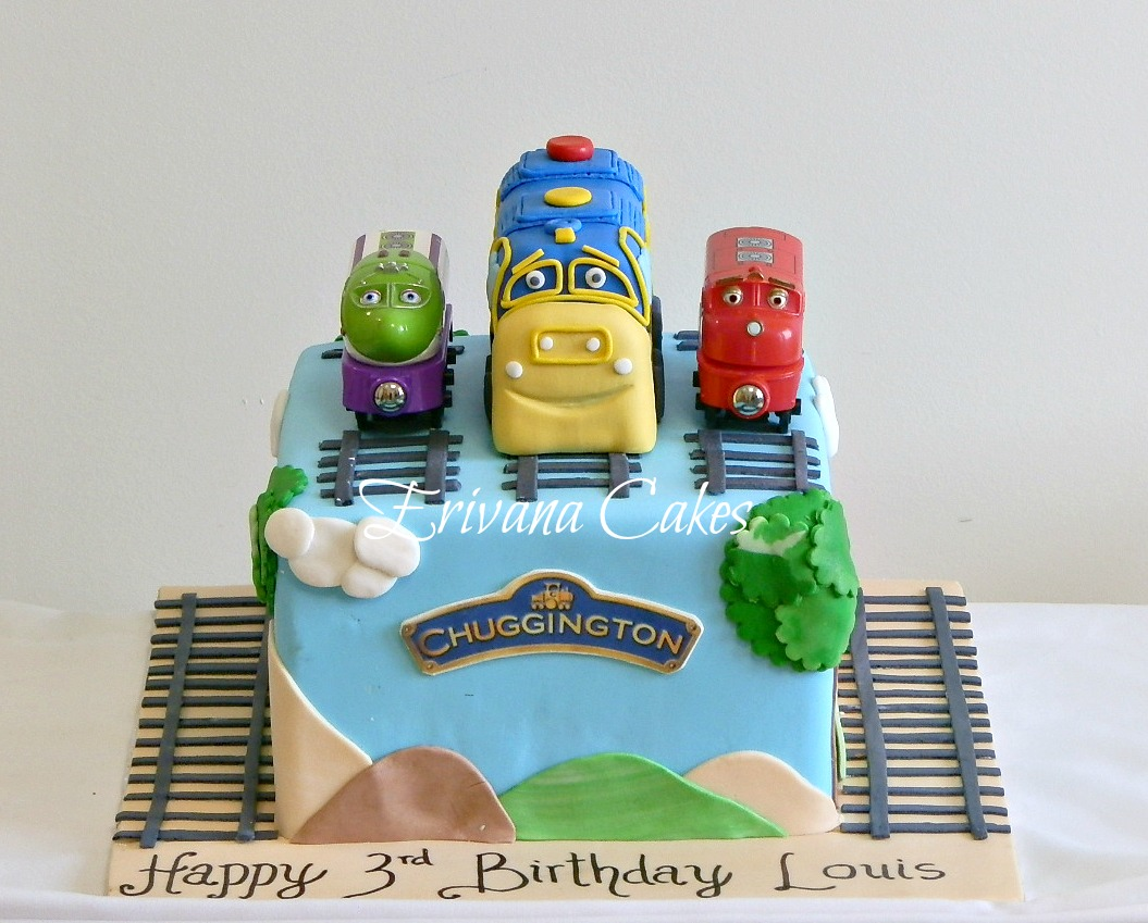 Chuggington Birthday Cake Ideas