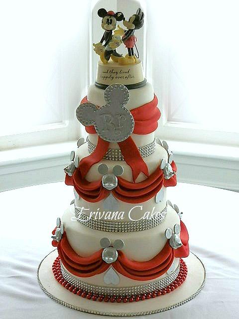 Disney Wedding Cake Flavors