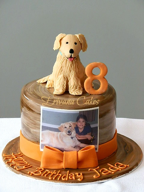 Dog themed Cake