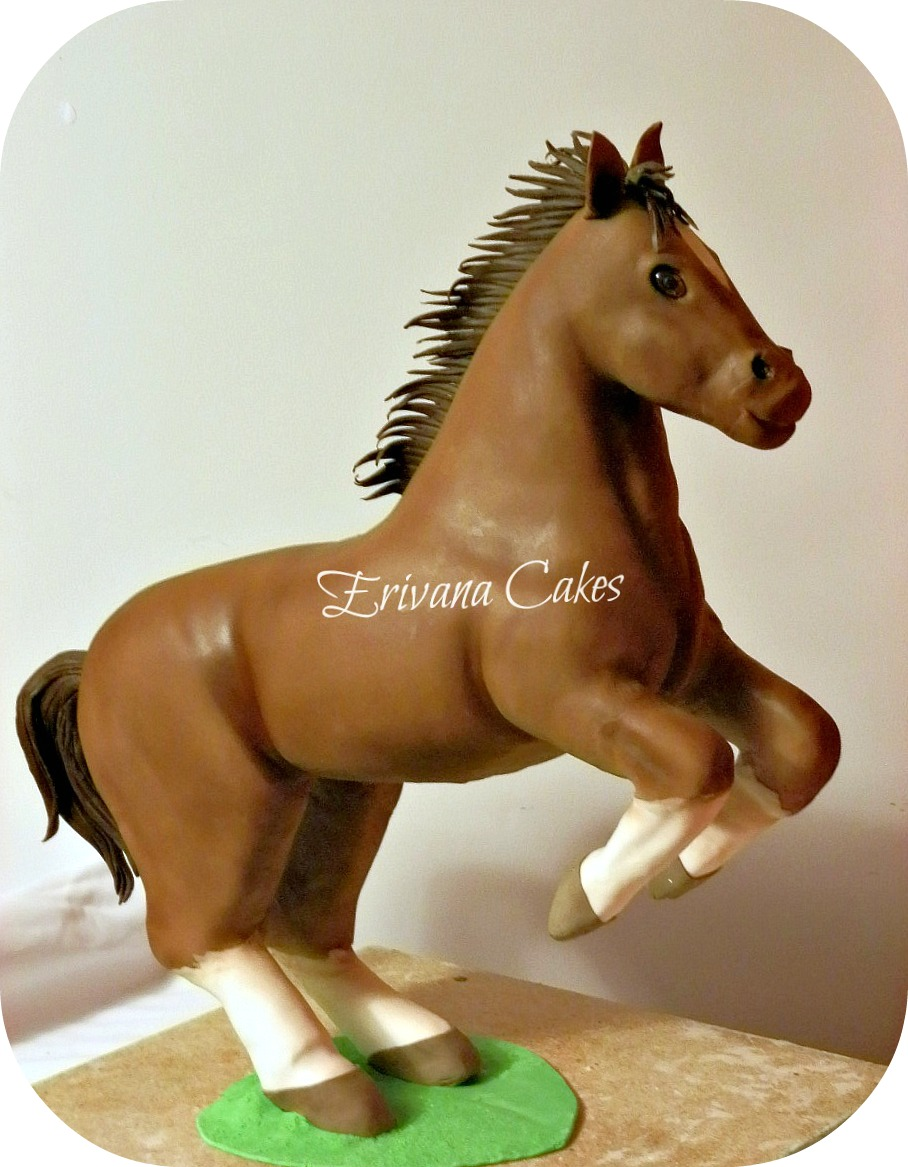 Horse Birthday Cake Toppers