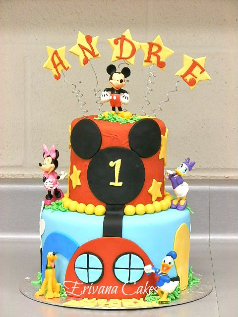 Mickey Mouse Clubhouse cake 4