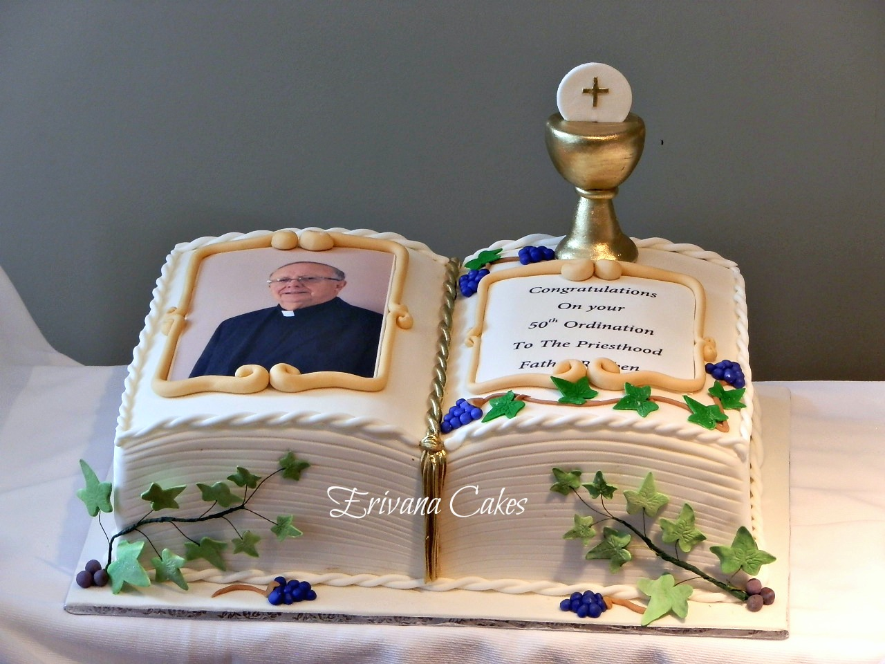Bible Wedding Cakes